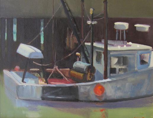 """Gloucester Trawler, 16"""" x 20"""""""